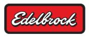 EDELBROCK MANIFOLD RPM AIR GAP CARB HOLD